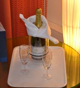 champagneflaska